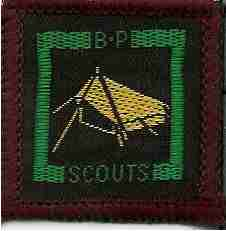 The Senior Scout Camp Warden Badge